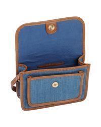 Sessun Blue Cross-body Bag
