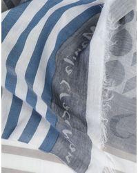 Foulard Manila Grace en coloris Blue