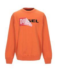 Sweat-shirt DIESEL pour homme en coloris Orange
