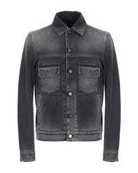 Manteau en jean Roberto Cavalli pour homme en coloris Black