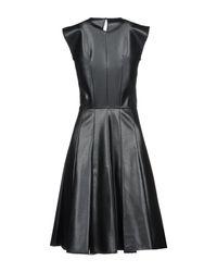 Ermanno Scervino Black Knee-length Dress