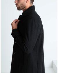 Abrigo Pierre Darre' de hombre de color Black