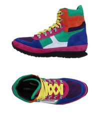 DSquared² Multicolor High-tops & Sneakers