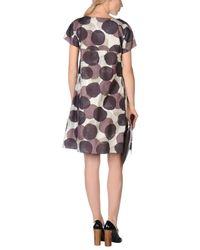 Dolce & Gabbana - Multicolor Short Dress - Lyst