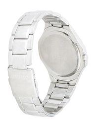 Seiko Metallic Wrist Watch for men