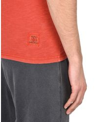 Napapijri - Red T-shirt for Men - Lyst
