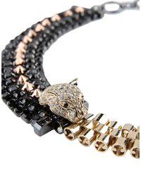 Iosselliani - Metallic Necklace - Lyst