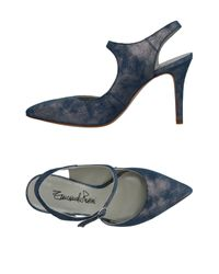 Emanuela Passeri Blue Pumps