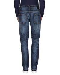 Balmain Blue Denim Pants for men