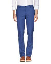Etro Blue Casual Trouser for men