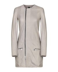 Vintage De Luxe Gray Overcoat
