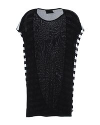 Mauro Gasperi Black Short Dress
