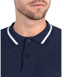Pullover CAMO de hombre de color Blue