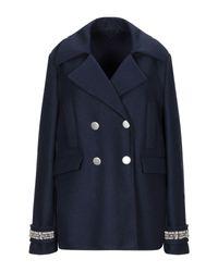 Manteau long Ermanno Scervino en coloris Blue