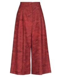 Ibrigu Red Casual Pants
