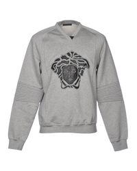 Versace Gray Sweatshirt for men