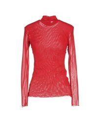 Pf Paola Frani - Red T-shirt - Lyst