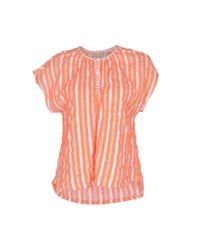 Ace & Jig Orange Blouse