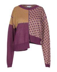Patrizia Pepe Purple Pullover