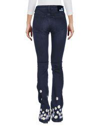 Love Moschino - Black Denim Pants - Lyst