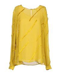 Blusa di ODEEH in Yellow