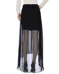 Alice + Olivia Black 3/4 Length Skirt