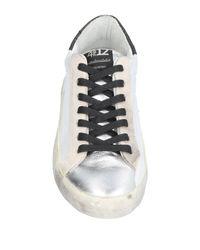 Quattrobarradodici White Low-tops & Sneakers