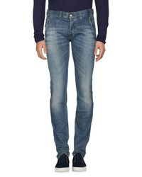 Just Cavalli Blue Denim Pants for men