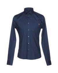 Versace Jeans Blue Shirt for men