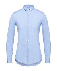 Camicia di Dolce & Gabbana in Blue da Uomo