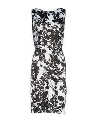 No Secrets Black Knee-length Dress