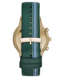 Reloj de pulsera Emporio Armani de hombre de color Metallic
