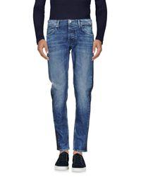 Pepe Jeans Blue Denim Trousers for men