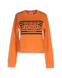 Cheap Monday Orange Sweatshirt