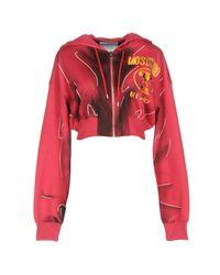 Moschino Red Sweatshirt