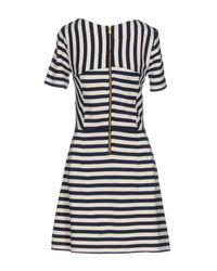 Marc By Marc Jacobs White Short Dress