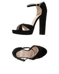 Ovye' By Cristina Lucchi Black Sandals