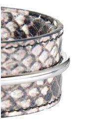 Acne   Gray Bracelet   Lyst