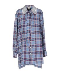 Marc Jacobs Blue Shirt
