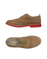 Snobs Natural Lace-up Shoe for men