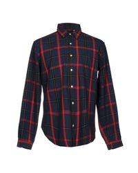 Oliver Spencer Blue Shirt for men
