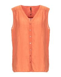 Manila Grace Orange Shirt