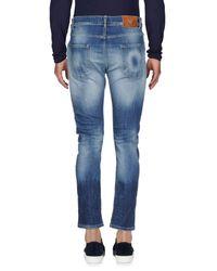 Pantaloni jeans di Frankie Morello in Blue da Uomo