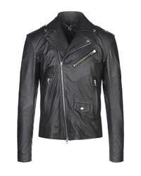Vintage De Luxe Black Jacket for men