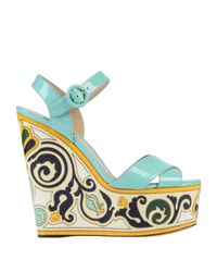 Dolce & Gabbana Multicolor Sandale