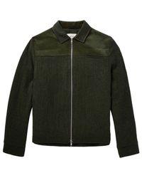 Oliver Spencer Green Jacket for men