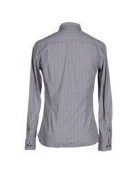 Armani Jeans Gray Shirt for men