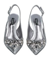 Dolce & Gabbana Metallic Pumps