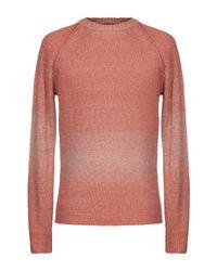 Pullover Roberto Collina pour homme en coloris Orange