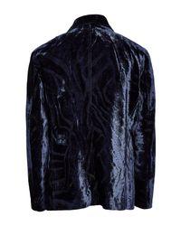 Veste Giorgio Armani pour homme en coloris Blue